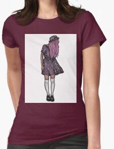 Dark Hipster Girl T-Shirt