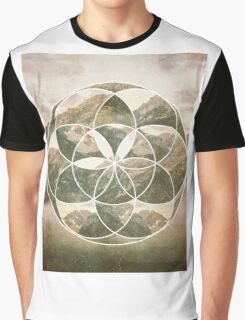 Mountain scape 2 Graphic T-Shirt