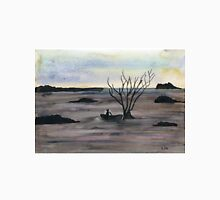 Abstract Landscape in cold colors - Watercolor Painting Unisex T-Shirt