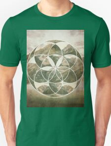 Mountain scape 2 Unisex T-Shirt