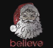 Believe Santa One Piece - Short Sleeve