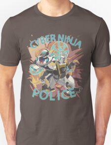 Cyber ninja police T-Shirt