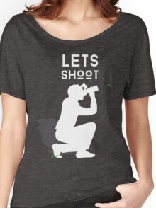 Let's Shoot Women's Relaxed Fit T-Shirt
