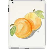 Orange Apricots Watercolor Painting. iPad Case/Skin