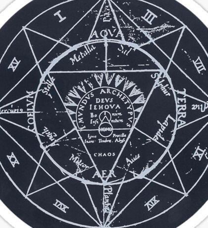 astrology chart Sticker
