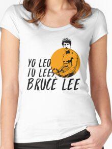Bruce Lee español Women's Fitted Scoop T-Shirt