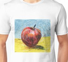Red apple - Oil pastel painting Unisex T-Shirt