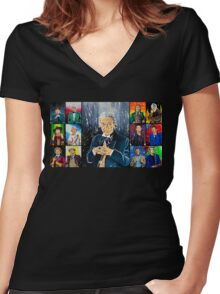 The Doctor of the Universe - The First Women's Fitted V-Neck T-Shirt