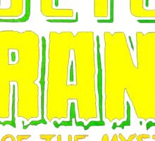 Doctor Strange - Classic Title - Clean Sticker