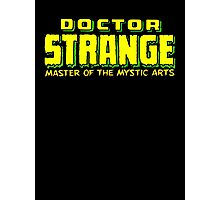 Doctor Strange - Classic Title - Clean Photographic Print