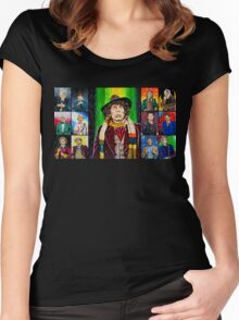 The Doctor of the Universe - The Icon Women's Fitted Scoop T-Shirt
