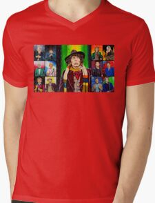 The Doctor of the Universe - The Icon Mens V-Neck T-Shirt