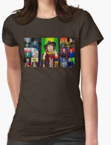 The Doctor of the Universe - The Icon Womens Fitted T-Shirt