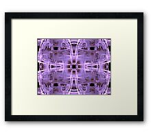 Sci-Fi Abstract Design Framed Print