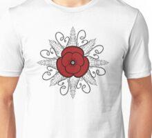Red ANZAC Poppy Unisex T-Shirt