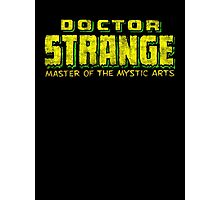 Doctor Strange - Classic Title - Dirty Photographic Print