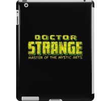 Doctor Strange - Classic Title - Dirty iPad Case/Skin