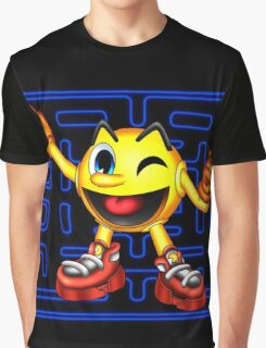 Pac-Man Maze Graphic T-Shirt