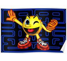 Pac-Man Maze Poster