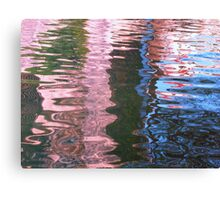 Nature's Water Abstract Canvas Print