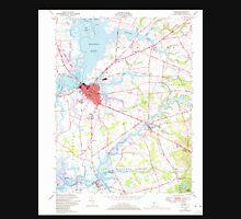 USGS TOPO Map New Jersey NJ Salem 254853 1948 24000 Unisex T-Shirt