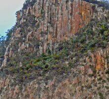 Cliffs, Bruny Island,  Tasmania, Australia Sticker