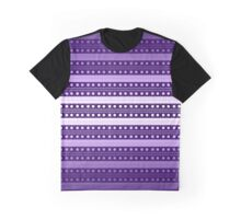Abstract Weave Pattern Tile - E Graphic T-Shirt