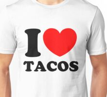"""I Heart Tacos"" Unisex T-Shirt"
