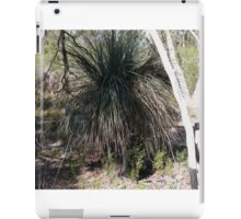 Xanthorroea australis in Light & Shade!  Jenkins Scrub Native Reserve. S.A. iPad Case/Skin