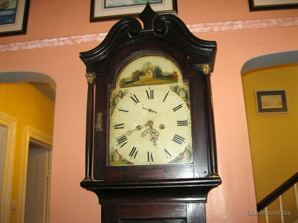 Grandfather Clock by BlueMoonRose