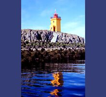 Lighthouse on small island near Flatey  Unisex T-Shirt