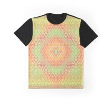 Abstract Weave Pattern Tile - C Graphic T-Shirt