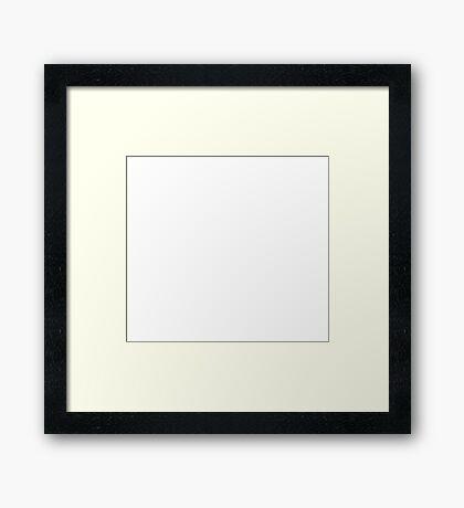 Men Of The Block Framed Print