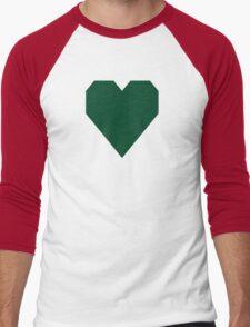 British Racing Green  Men's Baseball ¾ T-Shirt