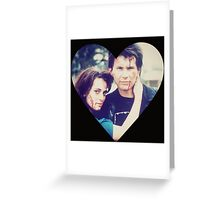 Veronica & JD Greeting Card