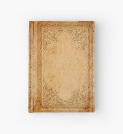 Aged Framed Paper Hardcover Journal