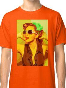 Timeless Vintage Girl Classic T-Shirt
