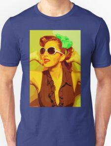 Timeless Vintage Girl Unisex T-Shirt