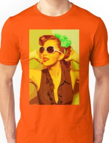 Timeless Vintage Girl Unisex T-Shirt