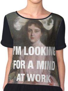 Angelica — Mind at Work Chiffon Top