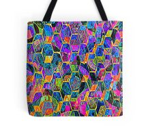 Multi Color Abstract Tote Bag