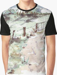 A farm gate  Graphic T-Shirt