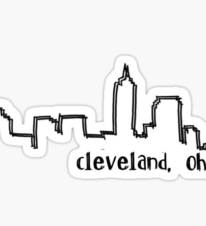 Cleveland, Ohio: I Sticker