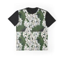 Tiny White Flowers Graphic T-Shirt