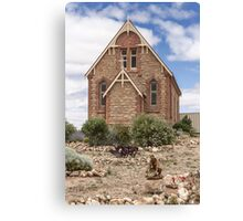 Silverton Catholic Church Canvas Print