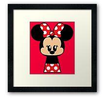 Mrs Mouse Framed Print