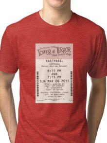 Tower of Terror Fastpass Tri-blend T-Shirt