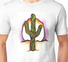 Saguaro Sunset Unisex T-Shirt