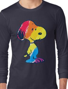Snoopy Colorful Long Sleeve T-Shirt