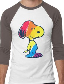 Snoopy Colorful Men's Baseball ¾ T-Shirt